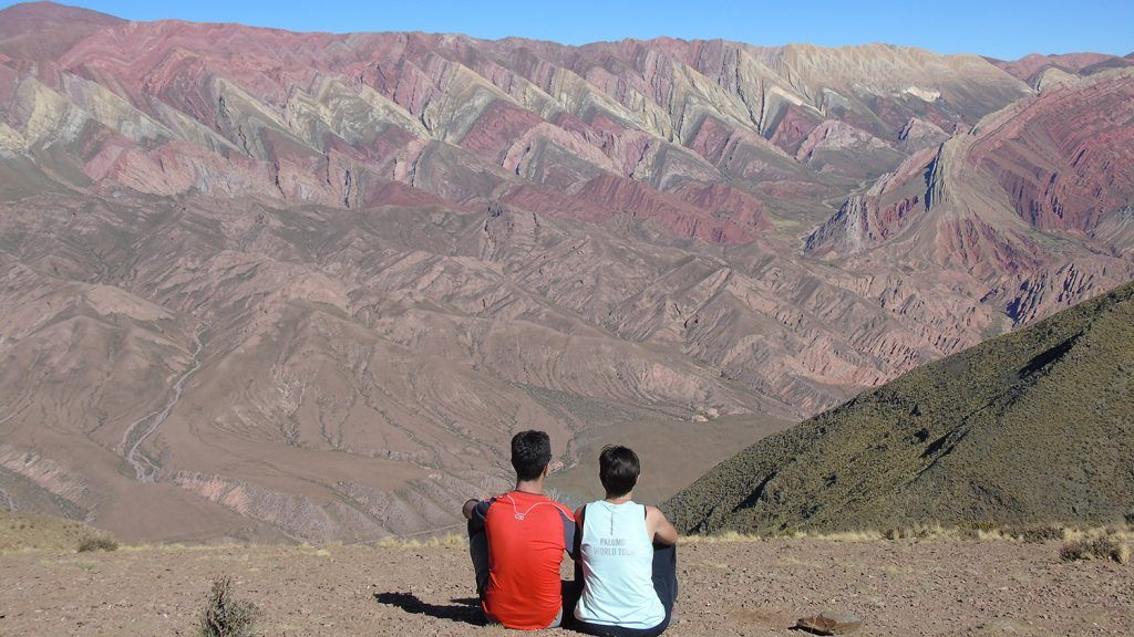 Humahuaca hornocal catorze colores